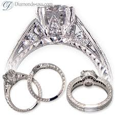 detailed engagement rings rings with detailed side view vintage engagement rings a