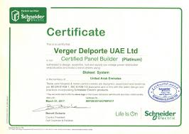 schneider electric logo verger delporte uae limited electrical and mechanical