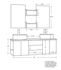 Bathroom Cabinet Height Bathroom Countertop Height Bstcountertops