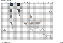 cat in stripes free cross stitch pattern yiotas xstitch
