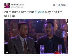 Indianapolis Colts Memes - twitter turns colts fake punt into meme twitter turns colts fake