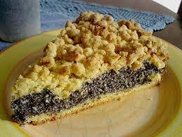 schlesische küche schlesischer mohn streusel hefeteig kuchen rezept mit bild