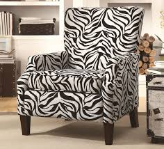Zebra Accent Chair The Choices Of Animal Printed Accent Chairs Style And