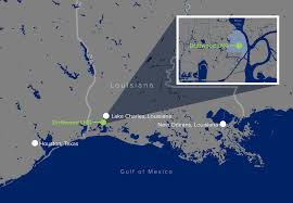 Map Of South Louisiana by Home Driftwood Lng