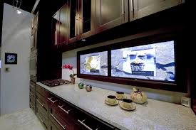 led digital kitchen backsplash the internet of things automating your home one task at a time