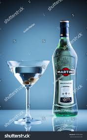 martini bianco glass clujnapoca romania january 28 2016 bottle stock photo 370701500