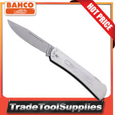 bahco pocket knife folding stainless steel 180mm general purpose