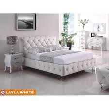 Tufted Bedroom Sets Stunning Creative White Tufted Bedroom Set White Leather Bedroom