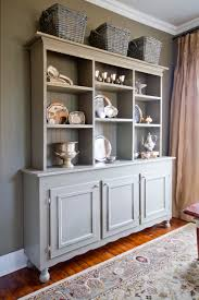 Distressed White Kitchen Hutch White Corner Hutch For Dining Room 37 Timeless Farmhouse Dining Room