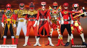 powered red rangers super sentai 1990 2016