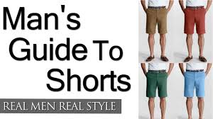 Mens Formal Wear Guide A Man U0027s Guide To Shorts How To Wear Shorts Wearing Men U0027s