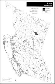 Map Of Bc Larger Versions Of The E Fauna Maps