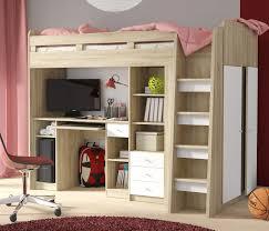 Schreibtisch Gross Hochbett Etagenbett Mit Kleiderschrank Und Schreibtisch Sonoma