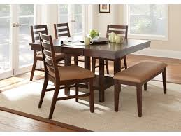 steve silver dining room eden dining table with 18 u0027 u0027 lazy susan