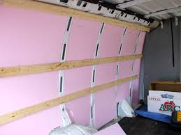 Insulation For Laminate Flooring How To Make Your Own Stealth Rv Camper Van Installing Flooring