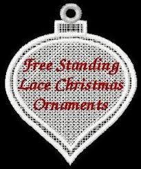 free standing lace ornaments machine embroidery collection