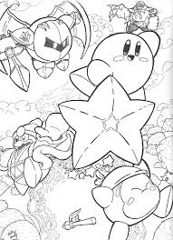 kirby coloring pages coloringsuite com
