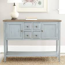 15 ideas of white distressed finish sideboards