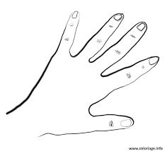 Coloriage enfant main dessin  JeColoriecom