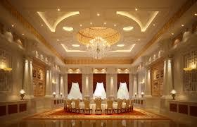 luxury banquet hall interior 3d model cgtrader