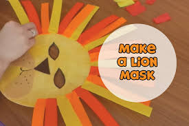 lion mask for kids make a lion mask make it yourself s01e2