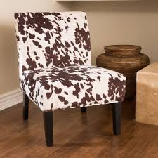 Cowhide Chairs And Ottomans Rustic Living Room Chairs Shop The Best Deals For Nov 2017