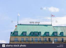 What Colors Are The German Flag Roof Of The Hotel Adlon Kempinski With Berlin And German Flag