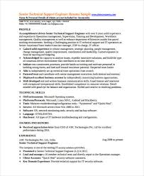 It Security Resume Examples by 10 Engineer Resumes Free Sample Example Format Download Free