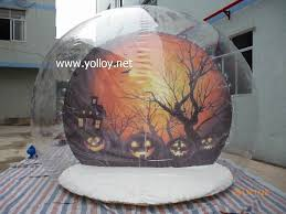 Dome Tent For Sale Yolloy Transparent Inflatable Snow Globe Tent For Camping For Sale