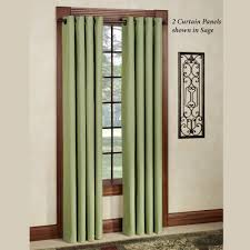 Thermal Curtains For Patio Doors by Thermal Elegance Grommet Curtain Panels
