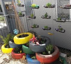Ideas For School Gardens Brilliant Ideas For Repurposing Containers Recycling And Planting