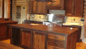 rustic kitchen furniture best 25 barn wood cabinets ideas on rustic kitchen