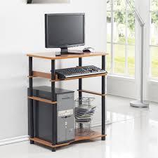 Shelf Computer Desk Furinno 10016 Home Laptop Notebook Computer Desk Walmart Com