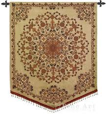 Wall Rugs Hanging India Golden Asian Tapestry Wall Hanging Indian Inspired Collage