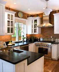 backsplash brick kitchen backsplash brick tile kitchen