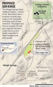 Buckeye Trail Map Miwok Tribe Picks Smaller El Dorado Shooting Range Amid Neighbors