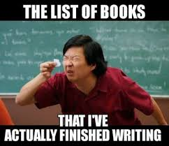 Writing Meme - my top 20 favourite memes about writing