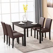 Dining Room Sets 4 Chairs Modern Dining Room Set Table 4 Chairs Kitchen Dinette Breakfast
