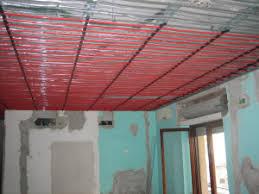 radiante a soffitto riscaldare e raffrescare con impianto radiante a soffitto