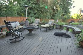 Behrs Furniture Store by Exterior Design Simple Behr Deckover With Wood Railing For