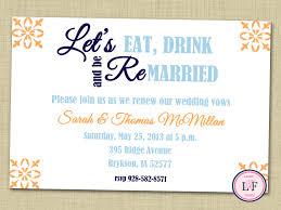 wedding vow renewal invitations reduxsquad com