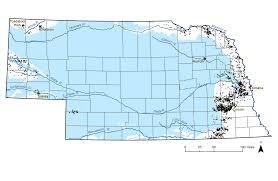 Nebraska On A Map An Overview Of Secondary Aquifers In Nebraska Unl Water