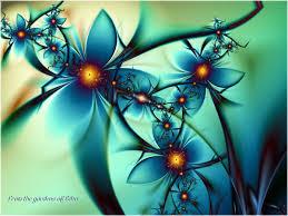 50 beautiful fractal flowers