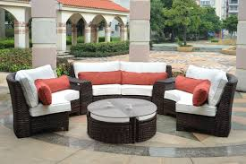 Fake Wicker Patio Furniture by Round Resin Patio Table Starrkingschool
