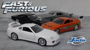 toyota fast car fast u0026 furious 7 white toyota supra jada toys youtube
