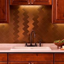 aspect long grain 3 in x 6 in metal decorative wall tilein