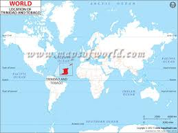 where is and tobago located on the world map where is and tobago location of and tobago