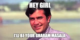 Hey Girl Meme - rajesh khanna hey girl meme mr mrs 55 classic bollywood