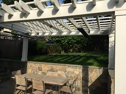 trellis with patio heater with 12