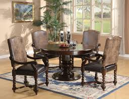 Modern Round Dining Room Sets by Formal Round Dining Room Sets Latest Gallery Photo